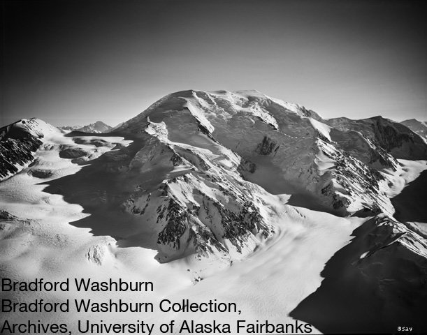 Bradford Washburn, Mount Queen Mary