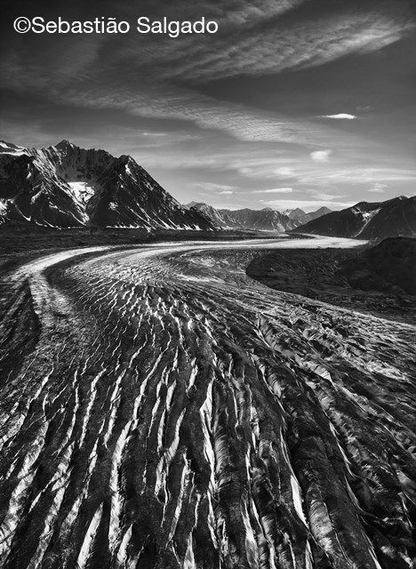 Kaskawulsh Glacier, w©Sebastião Salgado