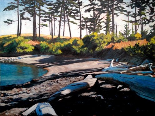 9.Sheltered Cove( Pender island)_30 x 40_oil.jpeg