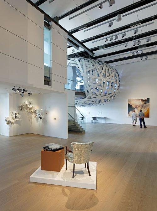 Esker Foundation Gallery 'Nest'