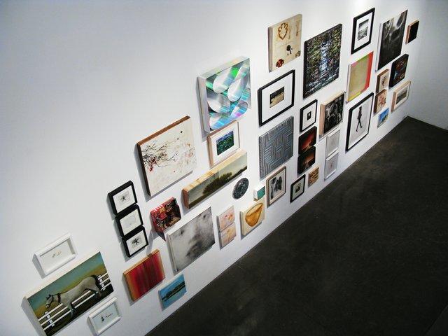 """Deck the Walls!"" installation shot"