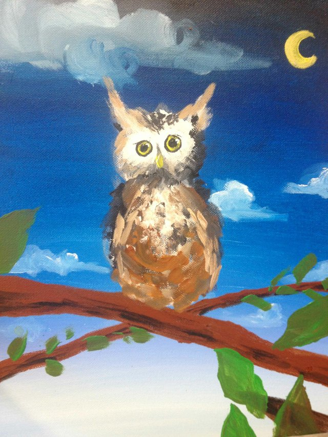 """""""Introduction to painting with acrylics at the White Dog Whistler Studio Gallery"""""""
