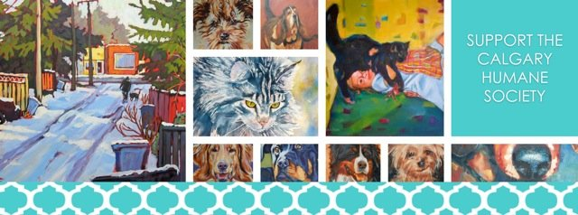 """""""My Best Friend & Me,"""" A Fundraiser for the Calgary Humane Society poster."""