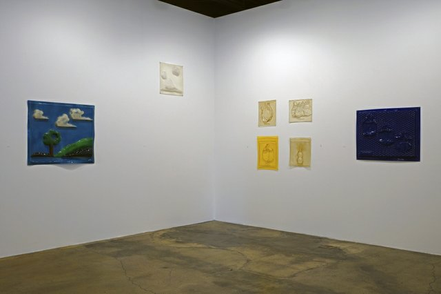 """* The &MAN 50 Years & On"" installation view"