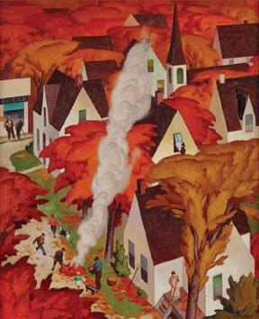 """""""Leaf-Burning, Autumn in Ontario"""""""