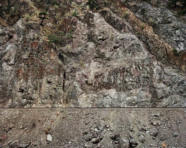 """Railcuts #6, Railcut near Highway 8 (Spences Bridge), British Columbia, Canada"""