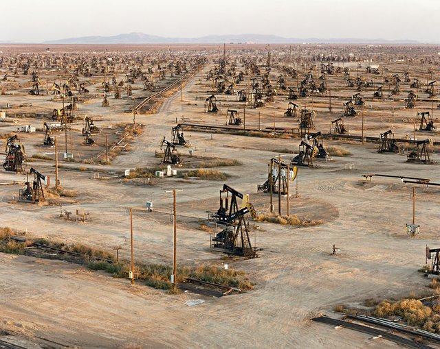 """Oil Fields #18, Belridge, California, USA"""