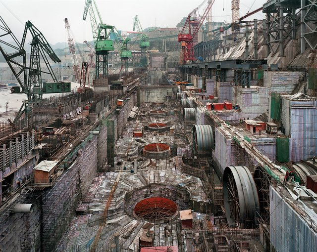 """Dam #6, Three Gorges Dam Project, Yangtze River, China"""
