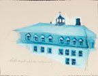 """schoolhouse from Sandy Bay Residential School Series"""