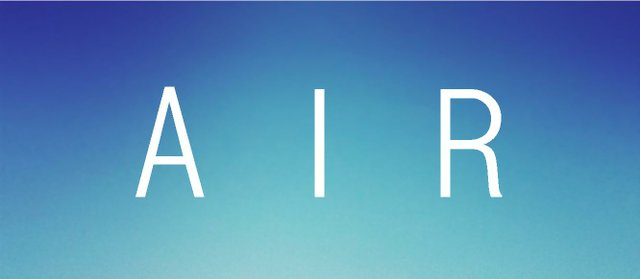 """""""Air"""" exhibition poster"""