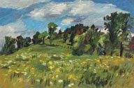 """Windy Hill in Spring"""