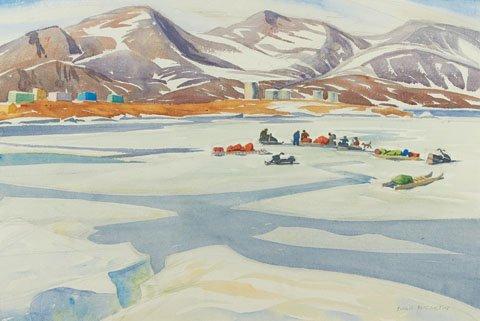 "Doris McCarthy ""Packing for the Canoe Trip, 1981"""