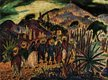 """W.J. Newcombe  """"Mexican Pilgrimage, San Miguel De Allende, Mexico"""""""