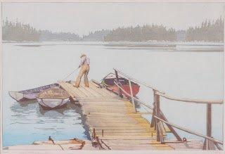 "W.J. Phillips ""Sharpe's Dock"""