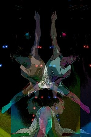 """Absinthe Series: Acrobats"""