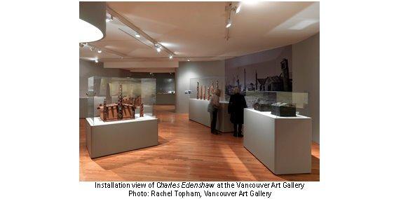 Charles Edenshaw at VAG Installation view