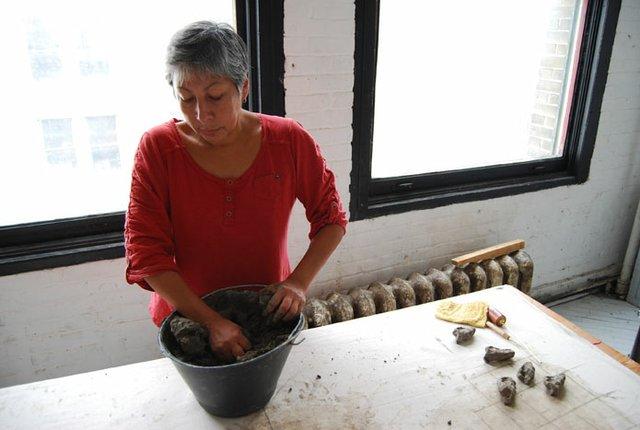 Belmore creates 'beads'