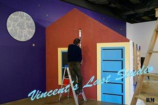 """Ron Moppett """"Vincent's Last Studio"""""""