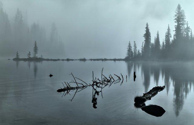 "Hiro Kobayashi ""Lake O'Hara Mist"""