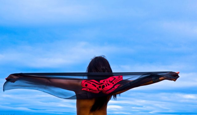 """Luu ahmhl goot't lax Ha (Happy Sky/Heaven) Honour Indigenous Women Ourselves"""