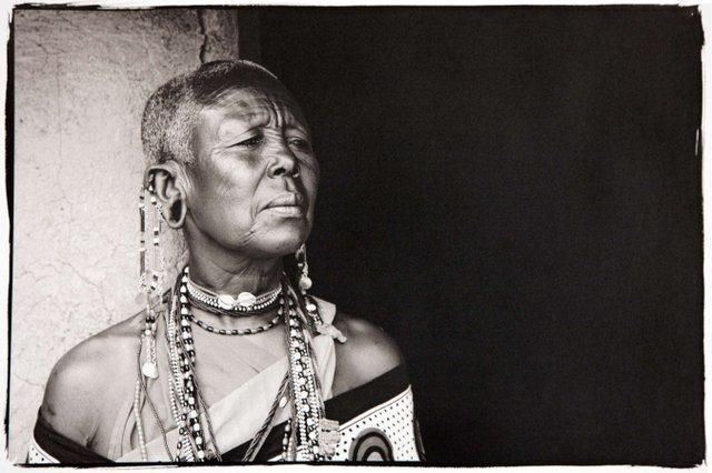 """Maasai Woman"""