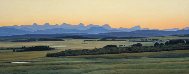 """""""Foothills Afterglow"""""""