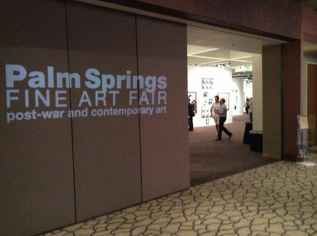 Palm Springs Art Fair Entrance