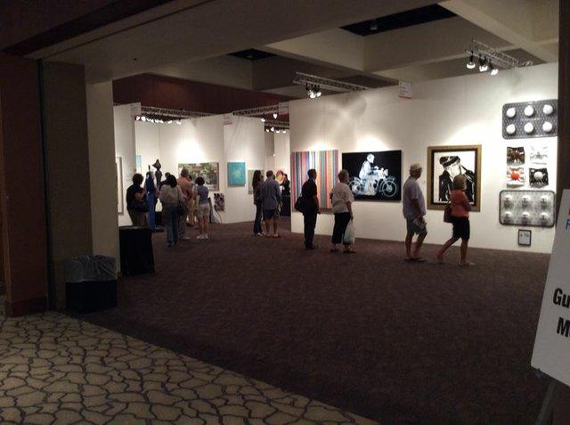 Palm Springs Art Fair Interior 2
