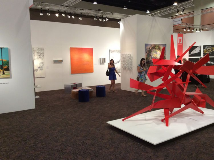 More to palm springs than golf galleries west for Palm springs craft fair