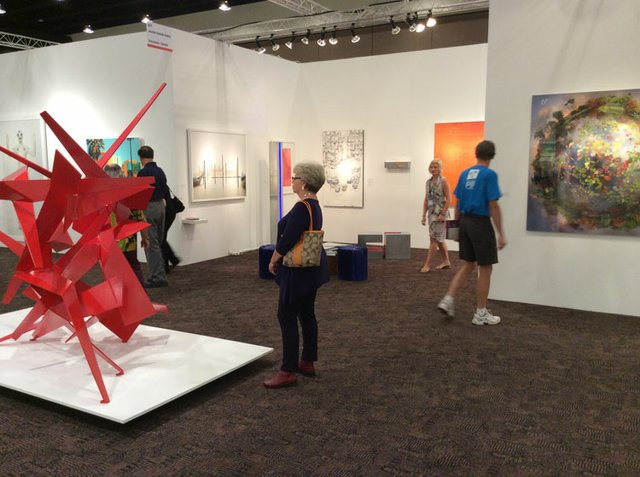 Palm Springs Art Fair - Jennifer Kostuik Gallery 2