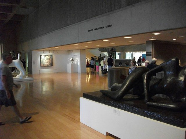 Palm Springs Art Museum Foyer (Moore Sculpture)