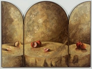 "Alexandre Masino ""Le temple secret"" (view when open)"