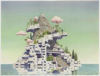 """Tristram Lansdowne, """"Axis Mundi"""", 2012"""