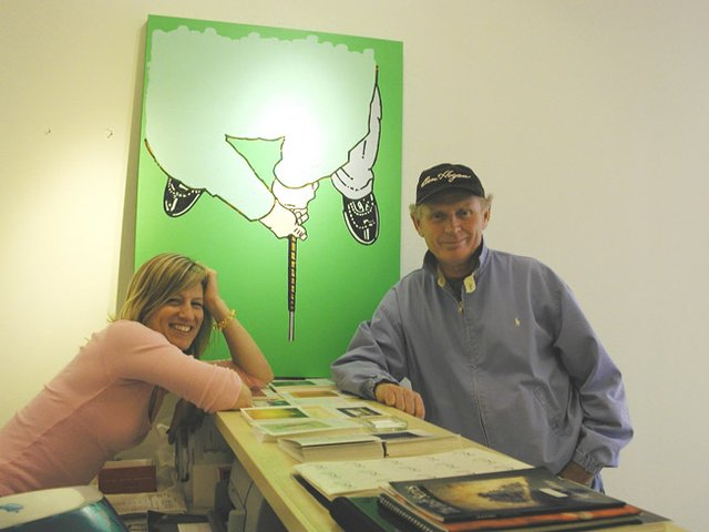 Jennifer Kostuik with Bill McCarroll