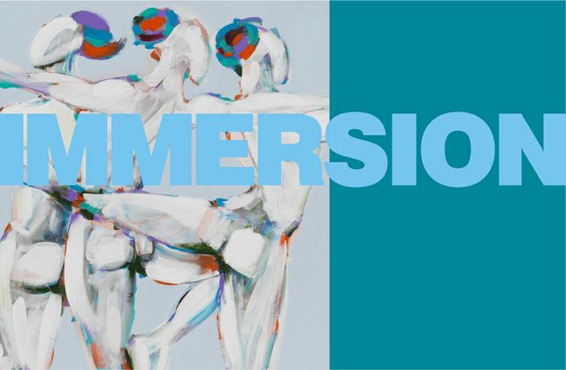 """""""Immersion"""" exhibition poster"""