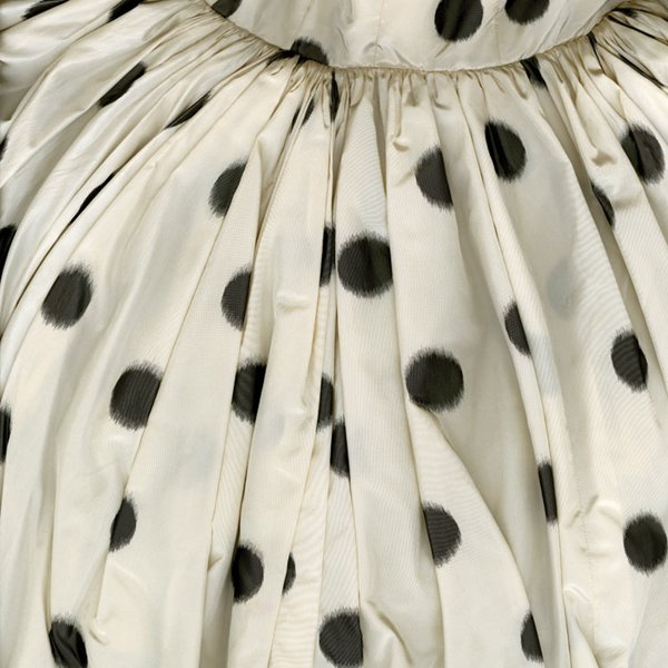 """Polka-Dotted Evening Dress"""