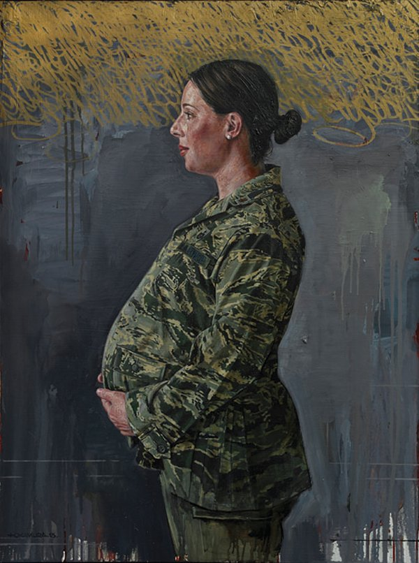 """The Pregnant Soldier"""