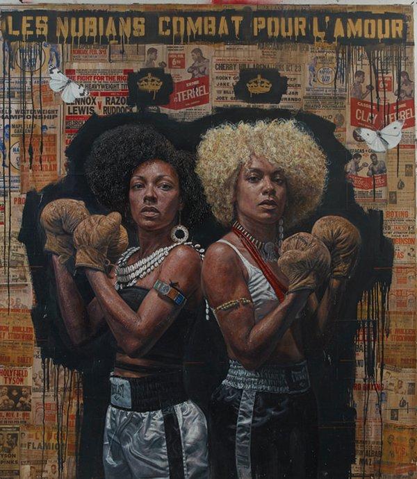 """""""Les nubians combat pour l'amour"""""""