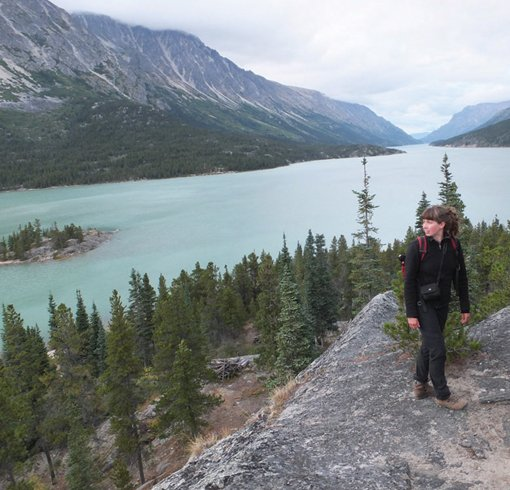 """Artist Kara Sievewright on the Chilkoot Trail"""