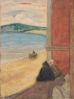 "J.W. Morrice ""View Towards the Beach"", Tangiers 1913"