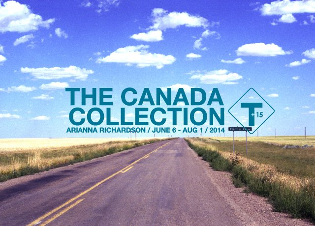 """The Canada Collection"" exhibition poster."