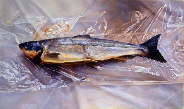 """Salmon on Saran"""