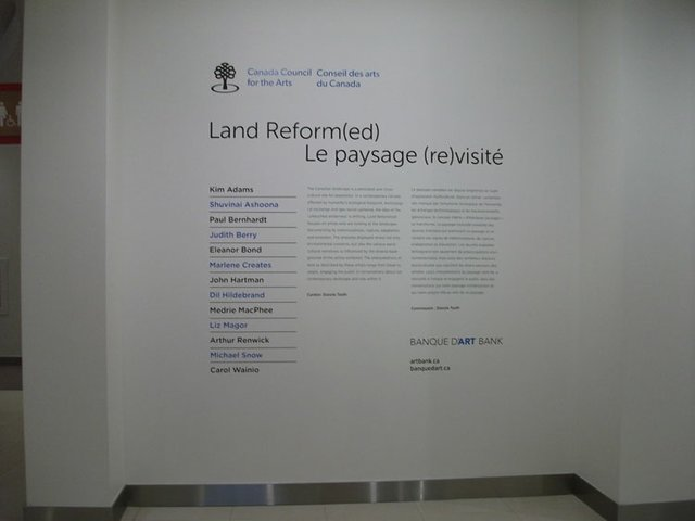 Land Reform(ed) exhibition