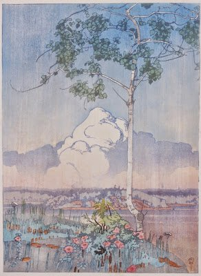 "W.J. Phillips ""Norman Bay, Lake of the Woods"" 1920"