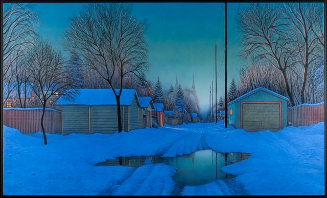 "Wilf Perreault ""Guiding Light"", 2002"