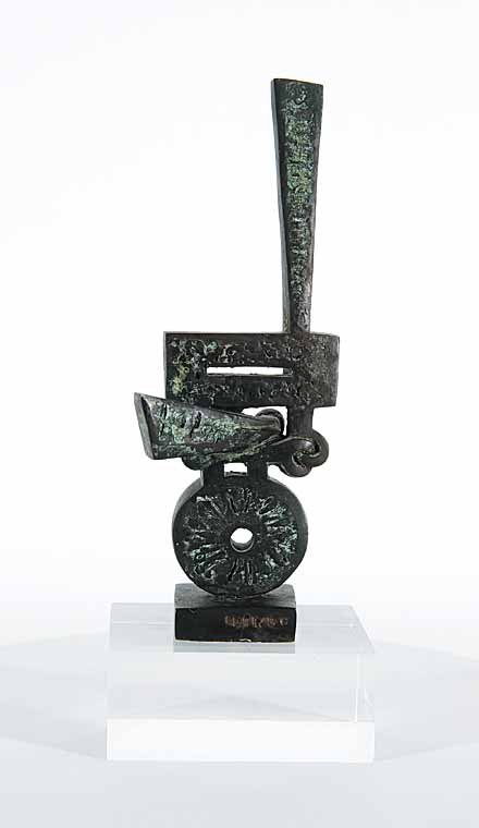 "Sorel Etrog ""Study for Survivors Are Not Heroes"" 1968"