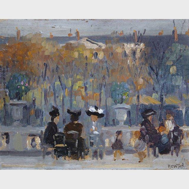 "Randolph Stanley Hewton, RCA ""Paris"" 1912"