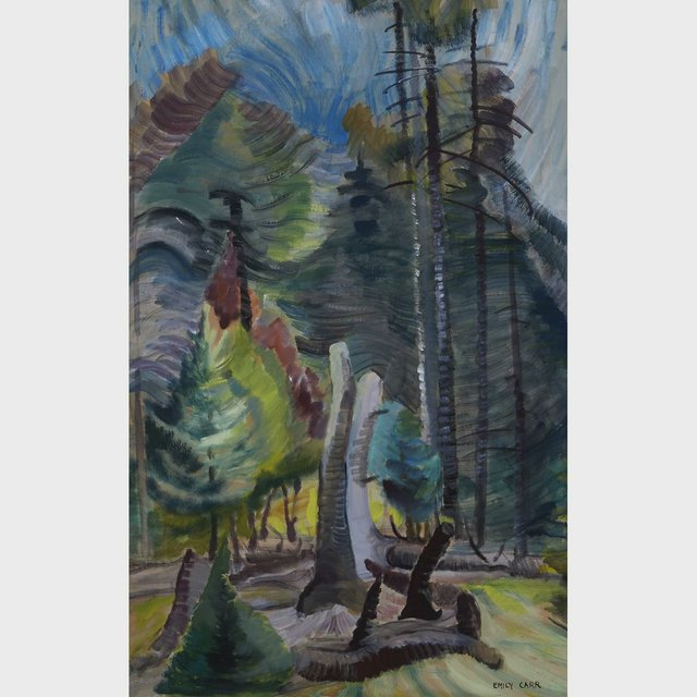 "M. Emily Carr ""Forest Clearing"""