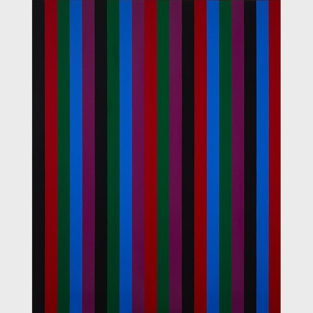 "Guido Molinari ""Mutation Serielle with Black Band"" 1966"