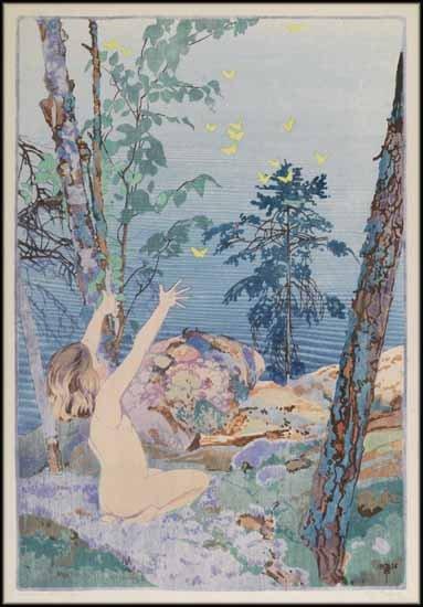 "Walter Joseph (W.J.) Phillips ASA CPE CSPWC RCA ""Summer Idyll"" 1926"